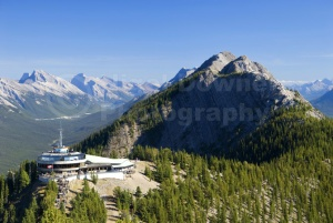 SC-0022 Banff goldola station and scenic view, Canada