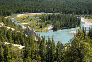 SC-0029 Bow River Valley with Hoodoos, Canada