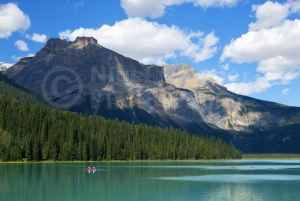 SC-0031 Canoeing on Emerald Lake, Yoho National Park, Canada