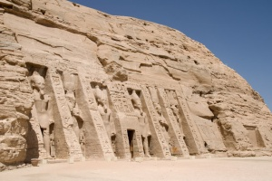 TR-0008 Abu Simbel temple of Nefertari