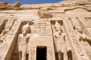 TR-0010 Abu Simbel temple of Nefertari