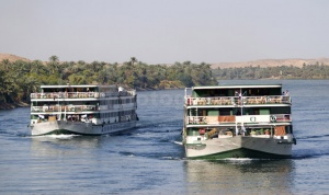 TR-0019 Cruise boats on the river Nile