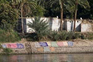 TR-0030 A basic dwelling on the banks of the Nile