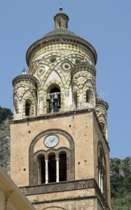 TR-0057 Cathedral of St Andrew clock tower, Amalfi, Italy