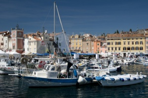 TR-0069 Boats in the south harbour Rovinj Croatia