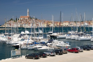 TR-0079 Rovinj old town and south harbour Croatia