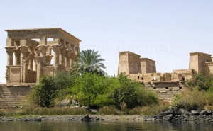 TR-0086 The Kiosk of Trajan and the Temple of Isis Philae Egypt