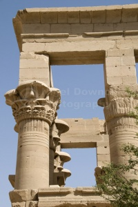 TR-0095 The Kiosk of Trajan at the Temple of Isis Philae Egypt
