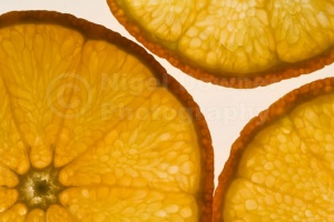 AB-0006 Orange slices abstract