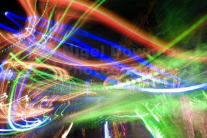 AB-0035 Centrifugal lights abstract