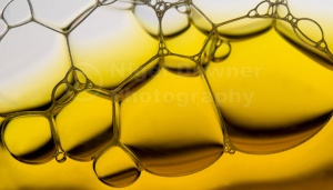 AB-0042 Bubbles in a glass abstract