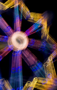AB-0057 Ferris wheel abstract
